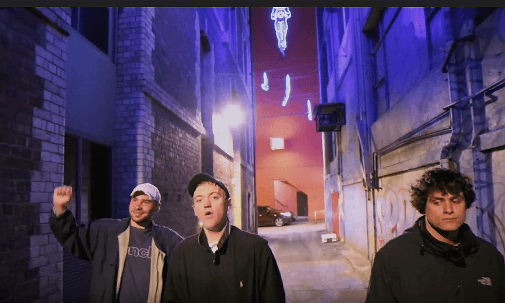 DMA's in their clip for 'Dawning'