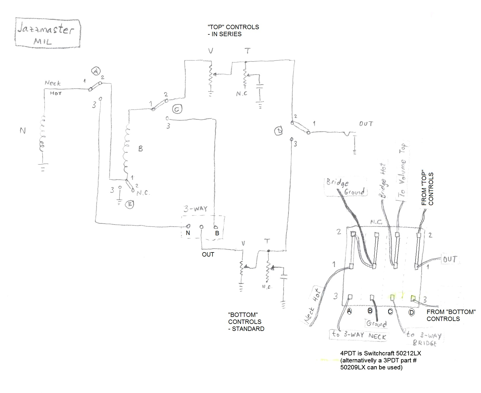 Series Tele Wiring Diagram Phase