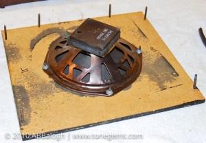 Sears 10XL Silvertone 1421 Original Speaker and Baffle