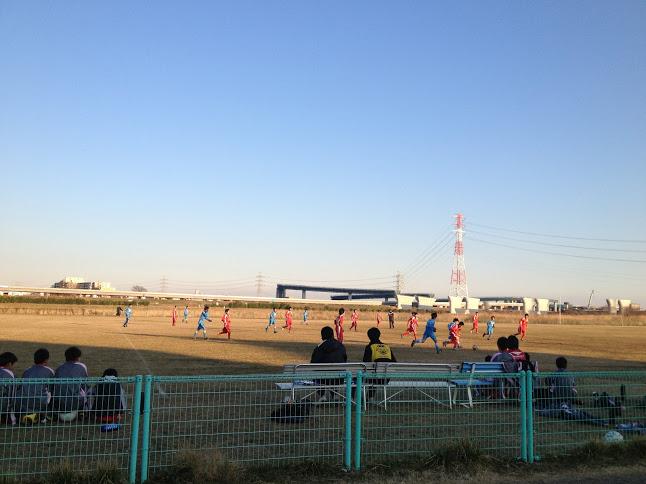 ジュニアユース・サッカー試合中