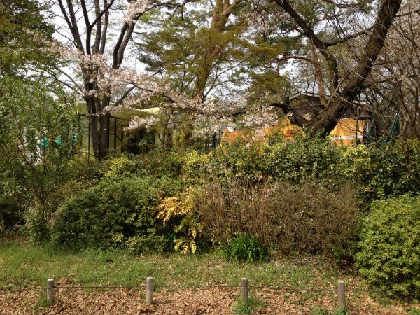 三鷹の森の中のジブリ美術館