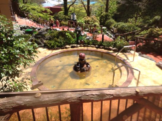 箱根小涌園ユネッサンの縁むすび風呂