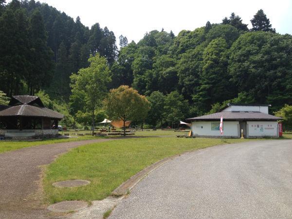 宮ヶ瀬湖畔園地のピクニック広場