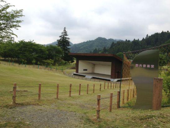 宮ヶ瀬湖畔園地の野外音楽堂