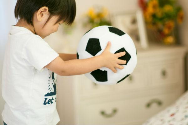 サッカーと子ども