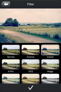「RoadMovies」のフィルター画面