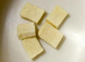 「たっぷり大豆」の豆腐