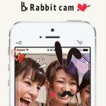 Rabbit cam:簡単に可愛くデコったショートムービーが作れるアプリ