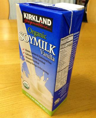 有機豆乳バニラ味 1パック