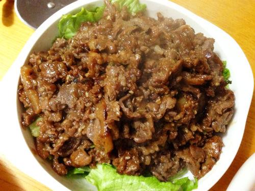 プルコギビーフ サラダ