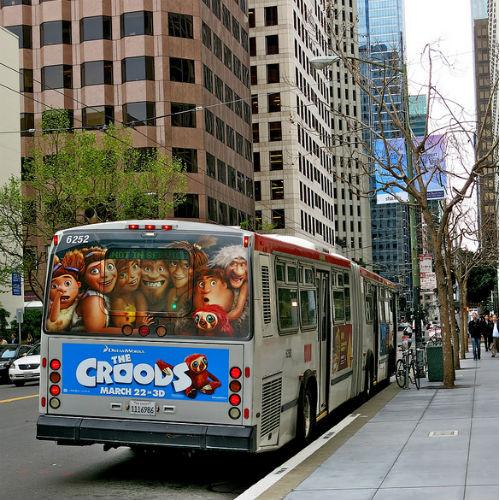 『クルードさんちのはじめての冒険』バス
