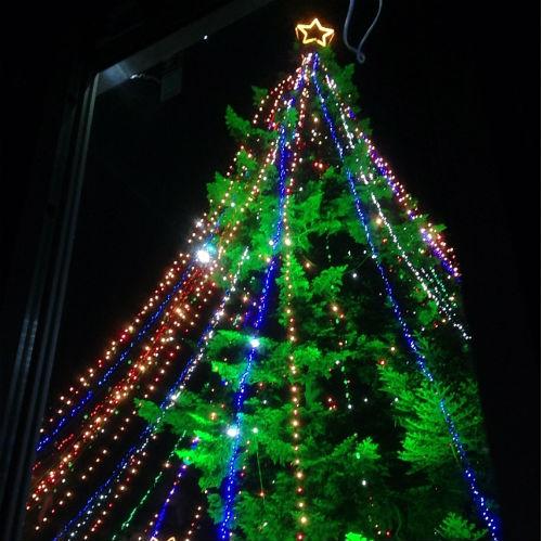クリスマス ジャンボツリー 宮ケ瀬