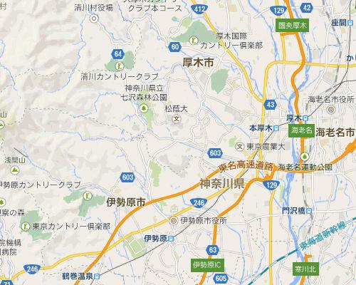 厚木 地図