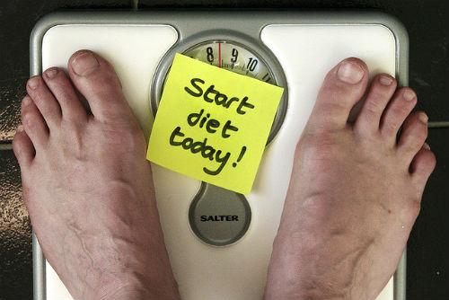 ダイエットと体重