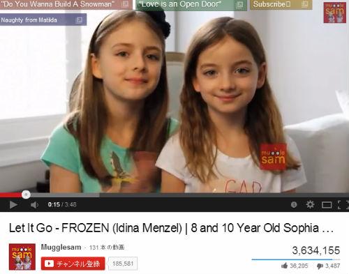 ソフィア10歳とベラ8歳