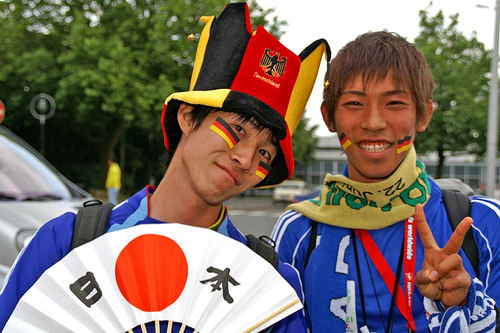 サッカー日本代表応援