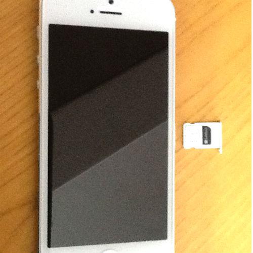 iPhone USIMカード 取り外し