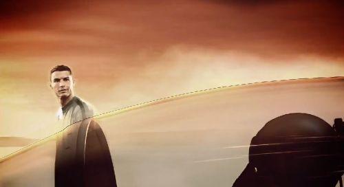 音速ジェットを追い抜くクリスチアーノ・ロナウド