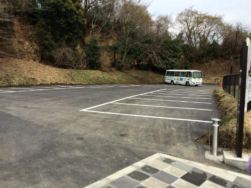 あつぎこどもの森公園 駐車場