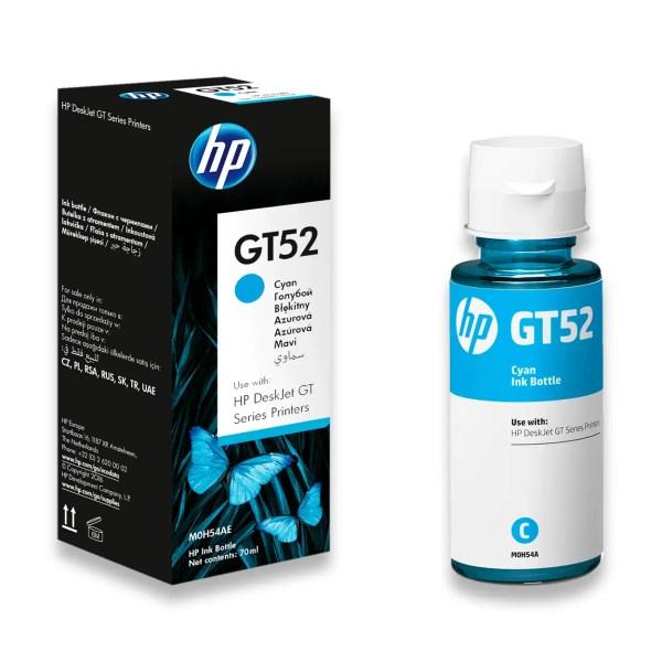HP GT52 Mastilo Original Cyan Plavo