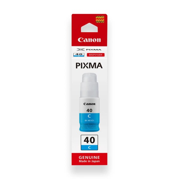 Canon GI-40 Mastilo Original Plavo Cyan
