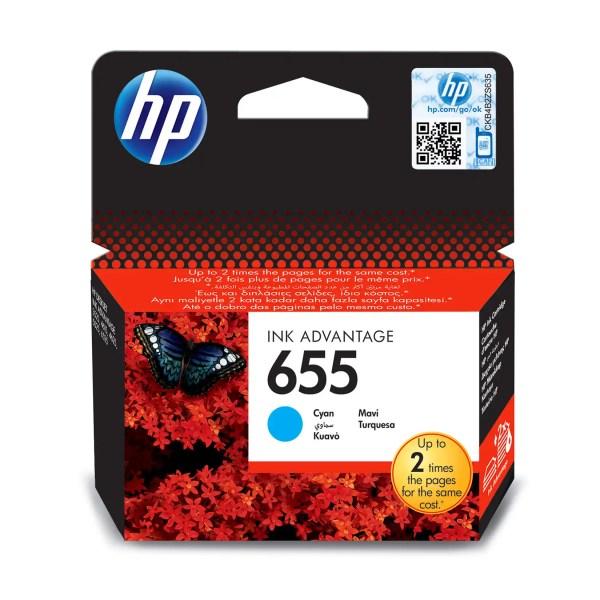 HP 655 Kertridž Original Cyan Plavi / CZ110AE