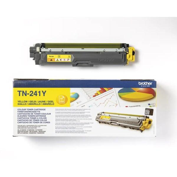 Brother TN-241Y Toner Original Žuti Yellow