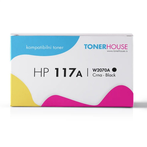HP 117A Toner Kompatibilni Black Crni / W2070A