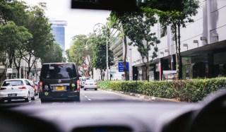 Singapore taxi car