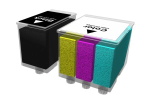 Inkjet cartridges (3D)