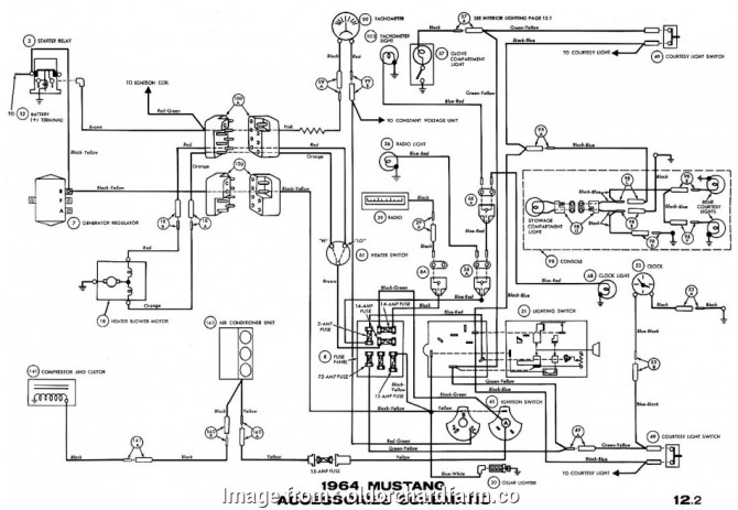 diagram 1966 mustang ignition wiring diagram full version