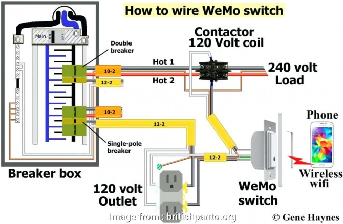 diagram wiring diagram of contactor with overload full