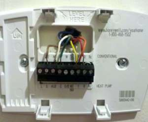 Honeywell Rth7400 Thermostat Wiring Diagram | Online