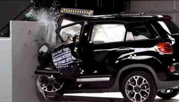 Fiat 500L Crash
