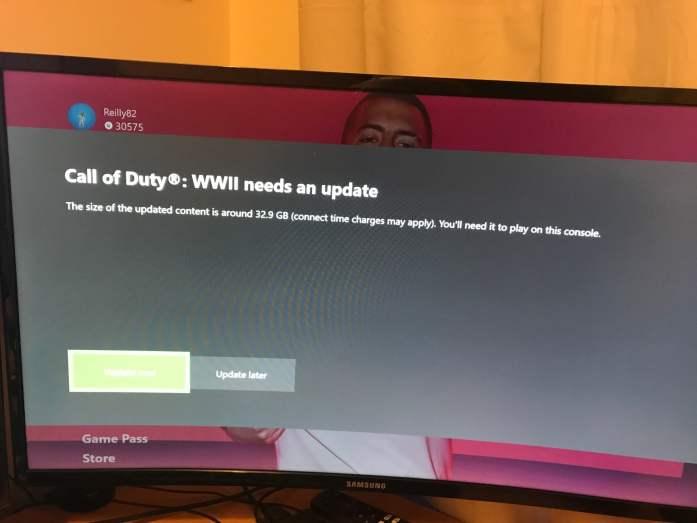 Call of Duty Update