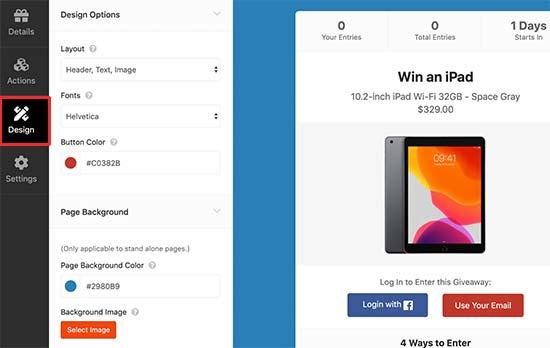 Diseña tu campaña de sorteos en Facebook