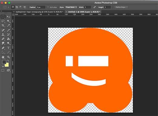 Crear un ícono de sitio para su blog de WordPress usando Adobe Photoshop