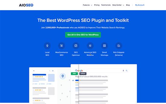 Todo en uno SEO para WordPress