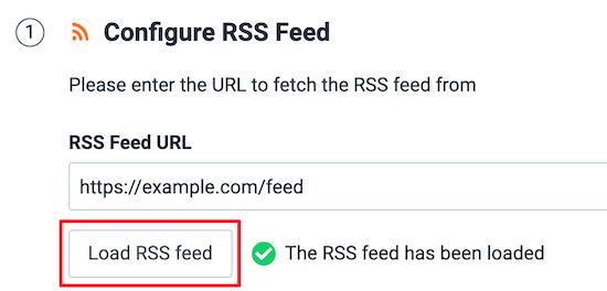 Ingrese la URL de la fuente RSS