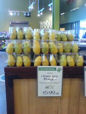 Mango at Whole Foods