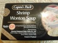 Captn's Pack: Shrimp Wanton Soup