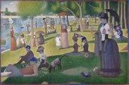 A Sunday on La Grande Jatte (1884, 1884/86) Georges Seurat, 1859-1891