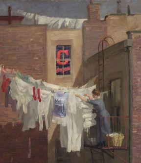A Woman's Work (1912) John Sloan, 1871-1951