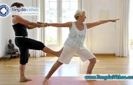 Thoái hóa khớp gối có nên tập yoga không ?