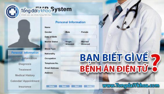 benh an dien tu electronic medical records