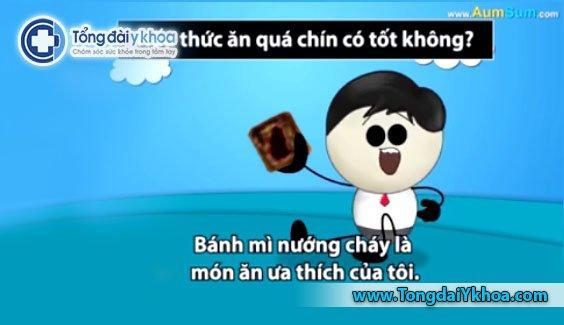 do an nau qua chin gay ung thu tac hai cua do an qua chin