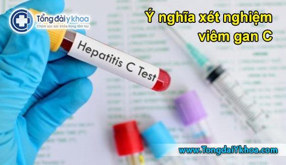 ý nghĩa xét nghiệm viêm gan C xét nghiệm anti hcv hc arn