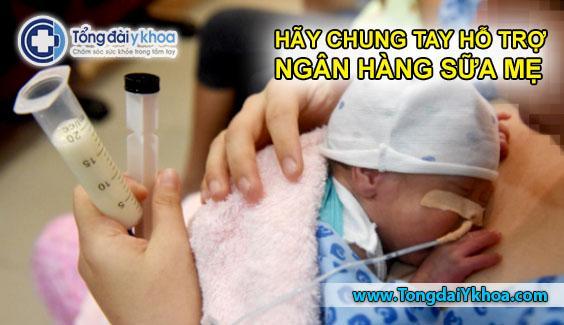 ngân hàng sữa mẹ bệnh viện từ dũ