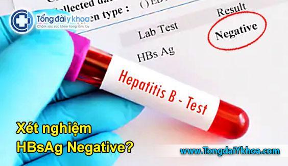 xét nghiệm HBsAg negative; xét nghiệm HBsAg neg; xét nghiệm viêm gan b âm tính; xét nghiệm viêm gan b
