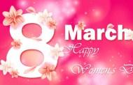Chúc mừng ngày Quốc tế Phụ nữ 8-3-2021